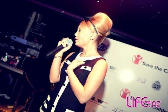 Благотворительная вечеринка с участием популярной певицы Нуры Сури