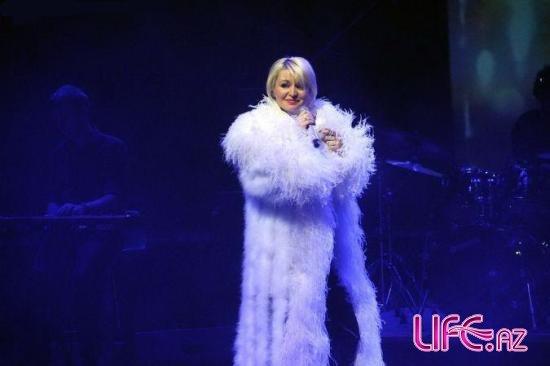 В Баку прошел концерт Кати Лель