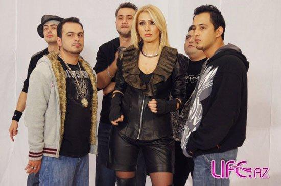 Певица Роза Зяргярли записала песню с рэп-группой [Фото]