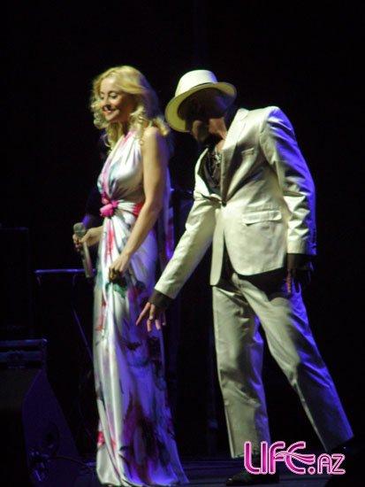 В Баку состоялся концерт Леонида Агутина и Анжелики Варум