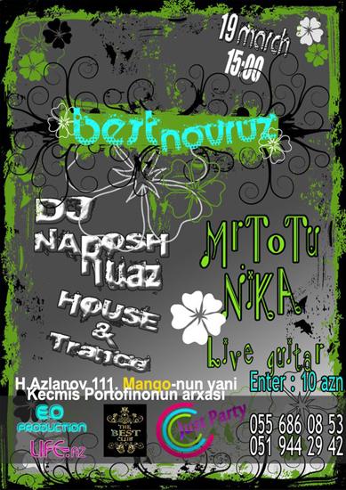 Праздничное парти Best Novruz