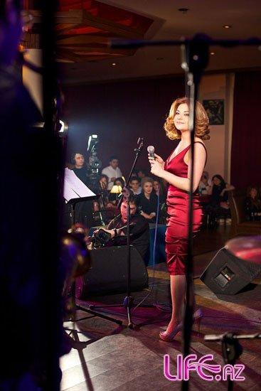 Ульвия Рагимова выступила с грузинской группой «Jazz factory» [Фото]