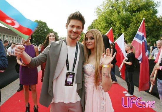 Эльдар и Нигяр на мероприятии, посвященном открытию «Евровидения» [Фото]