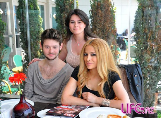 Победительница «Евровидения» Руслана прибыла в Баку поздравить Эльдара и Нигяр [Фото]