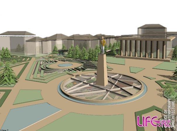 Вдоль «Зимнего бульвара» по улице Физули могут быть построены новые жилые здания - Газета