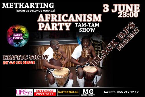 В Баку состоится Africanismm party
