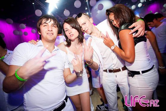 «MTV White Party 2011» в Баку [Фото]