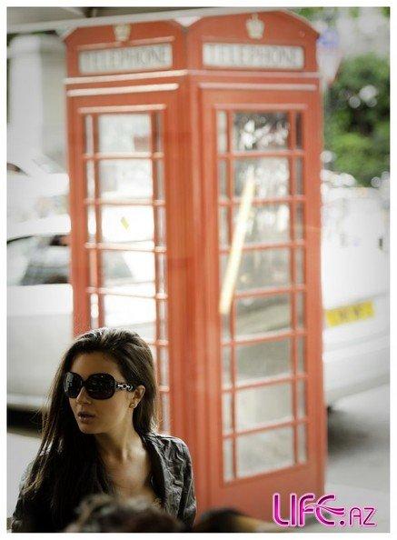 На днях Айсель Теймурзаде презентует песню «Tonight» записаную в Лондоне [Фото][Видео]