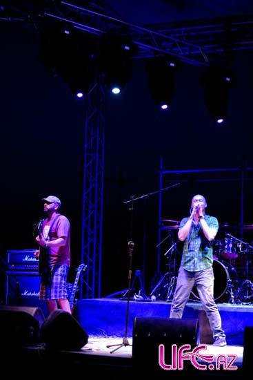 Очередной концерт украинской группы «Бумбокс» в Баку [Фото]