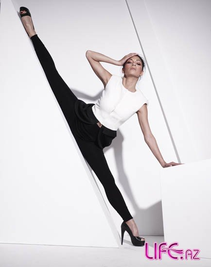 Николь Шерзингер в журнале InStyle UK, Август 2011 [Фото]