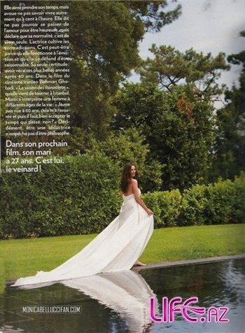 Моника Белуччи разделась для журнала Paris Match [Фото]