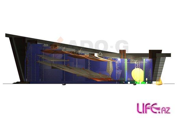 Появились очередные проекты концертного комплекса для «Евровидения-2012» [Фото][Видео]