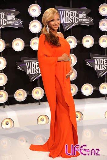 Певица Бейонсе объявила о беременности на церемонии MTV
