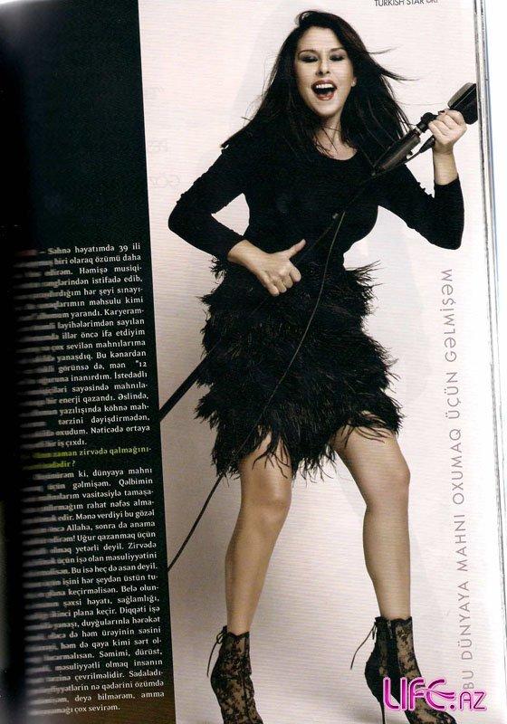 Знаменитая турецкая певица Нилюфер на страницах журнала «ОК!» Азербайджан [ ...