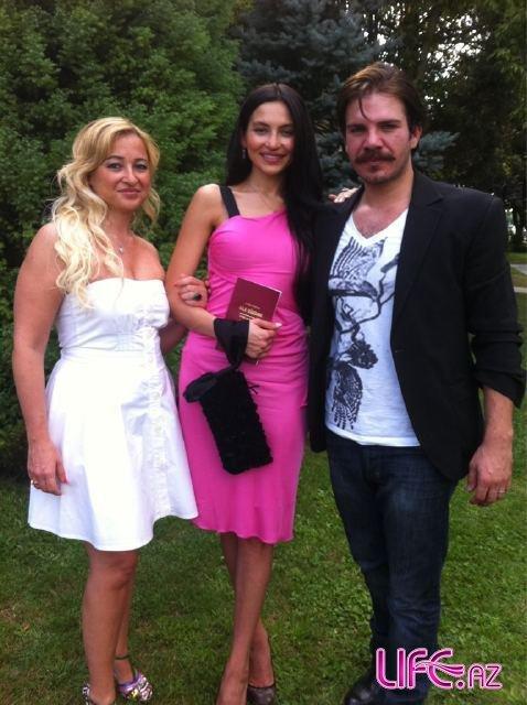 Азербайджанская модель Гюнай Мусаева вышла замуж за известного турецкого ак ...