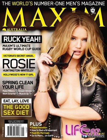 Рози Хантингтон-Уайтли снова в Maxim