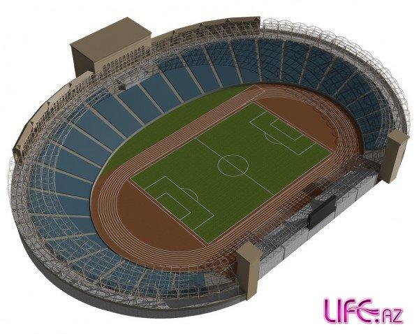 Новый реконструированный вид бакинских стадионов [Фото]