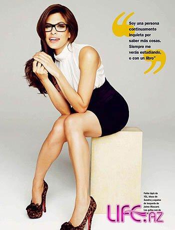 Ева Мендес на обложке Cosmo [Фото]