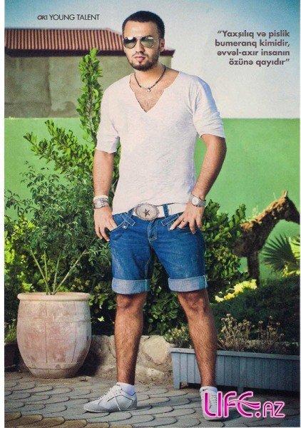 Невероятный Замик на страницах азербайджанского глянцевого журнала