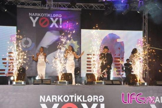 Легенды мировой сцены сказали «Наркотикам нет!» на Бакинском бульваре [Фото ...