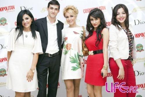 Презентована азербайджанская версия журнала Cosmopolitan [Фото]