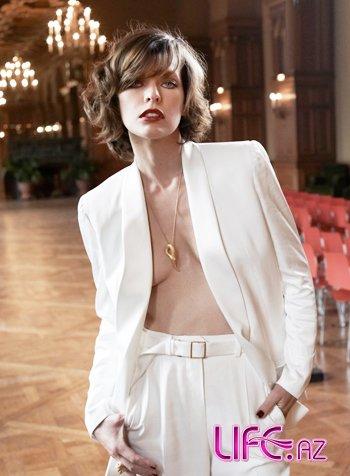 Элегантная Милла Йовович в S Moda [Фото]