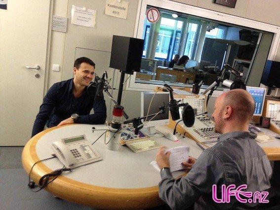 Эмин Агаларов завершил радиотурне по Германии [Фото]