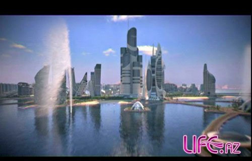 На прибрежных районах Баку создадут искусственные острова [Фото]