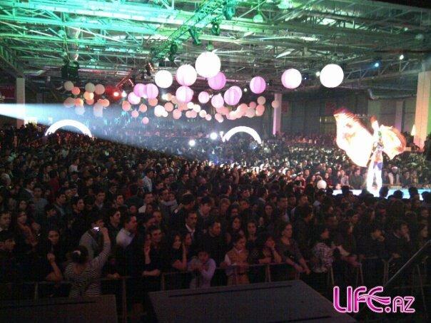 Новогодний концерт мегастар Таркана в Баку [Фото][Видео]