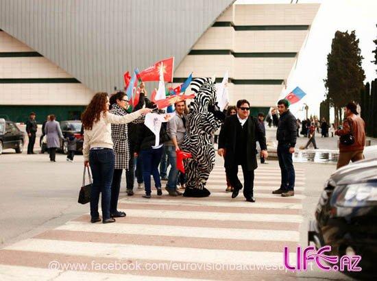 Мурад Дадашев принял участие в социальной акции фан-клуба «Евровидения» [Фото]