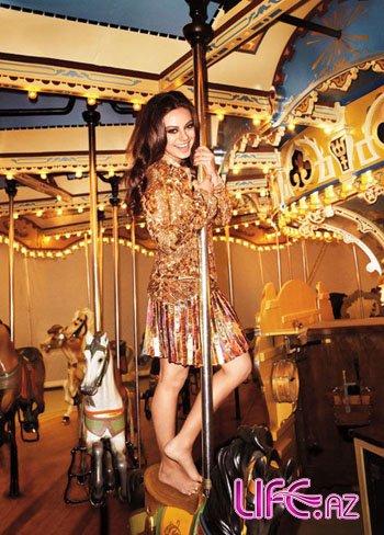 Мила Кунис в апрельском Harper's Bazaar [Фото]