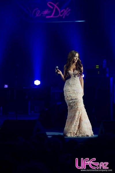 Сабина Бабаева приняла участие в концерте легендарного американского музыка ...