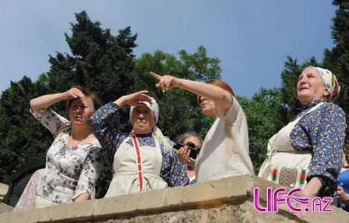 «Бурановские Бабушки» посетили «Ичери шехер» [Фото]