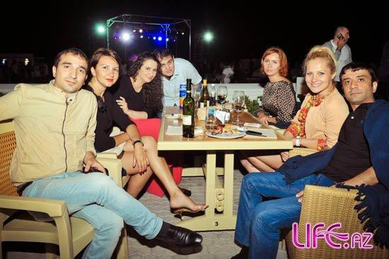 Концерт Тимати на берегу Каспия в Баку [Фото]