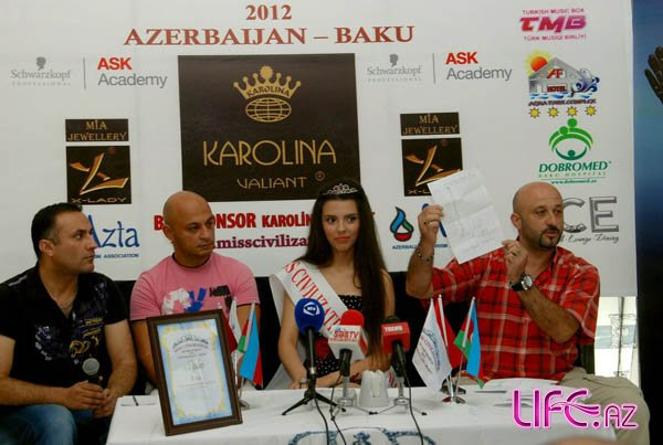 Состоялась первая пресс-конференция победительницы конкурса «Miss Civilizat ...