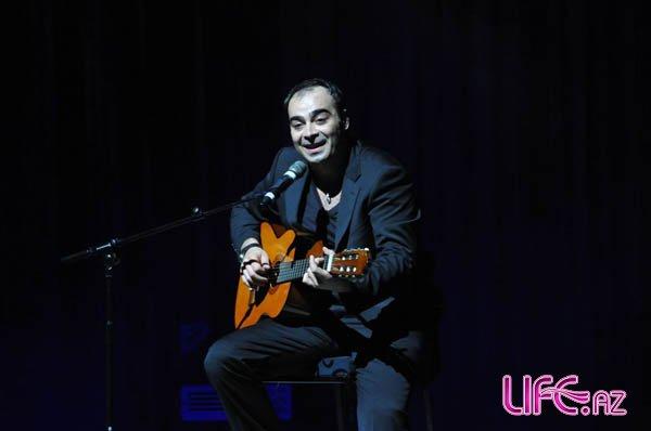 Грузинский певец Дато выступил в Баку [Фото]
