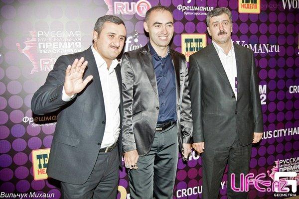 На церемонии вручения премии RU.TV  прозвучала мейхана «Давай, до свидания»