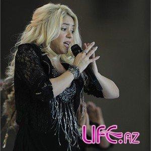 Всемирно известная певица Шакира выступила в Баку [Фото]