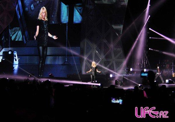 Шакира выступила концертом в Crystal Hall Baku [Фото]