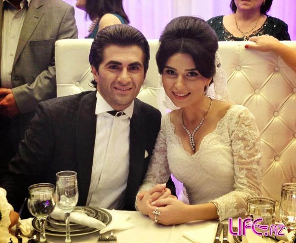 Заур Бахшалиев и Гюнай Гяляндярли поженились [Фото]