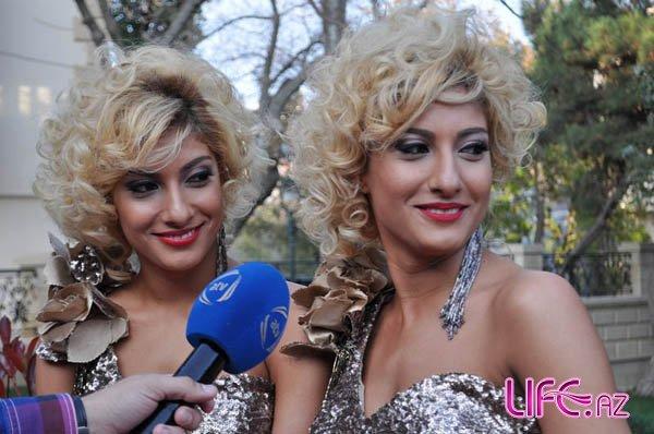 Близняшки S-Twins провели презентацию нового клипа «Sev məni» [Фото][Клип]