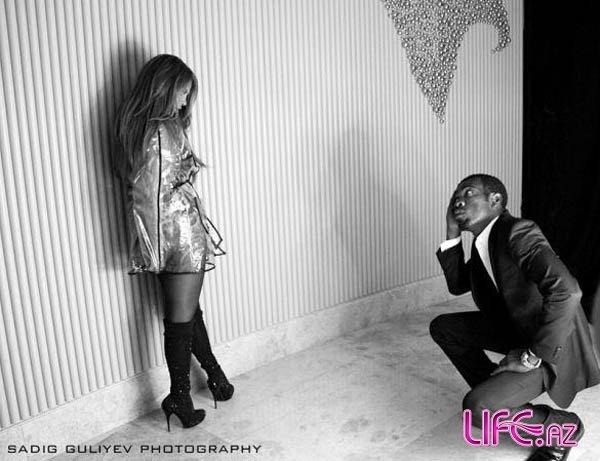 Айгюн Кязимова снимает клип на песню Сердара Ортаджа [Фото]