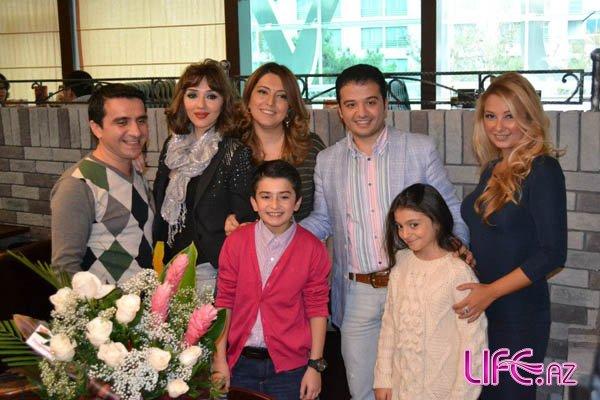 Сабина Бабаева и участники от Азербайджана на конкурсе «Детское Евровидение 2012»