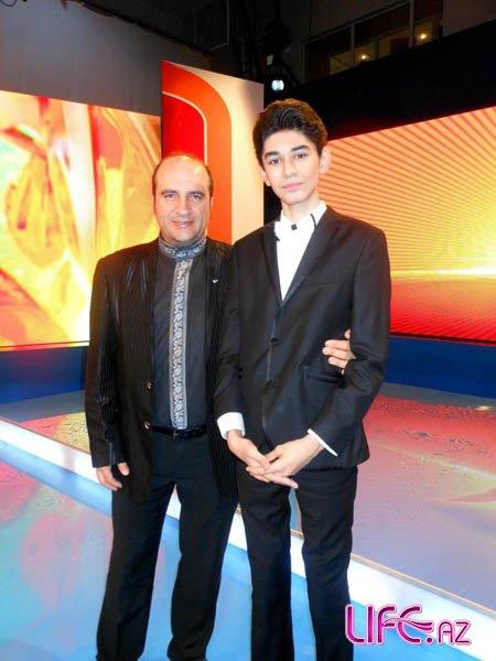 Робертино Лоретти встретился в Баку с лауреатом фестиваля в Италии [Фото]