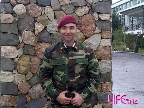 Илькин Гасани навестил Азада Шабанова в армии