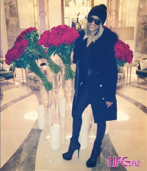 Всемирно популярная певица Сиара поделилась фотографиями из Баку [Фото]
