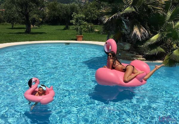 Кети Топурия перед поездкой в Баку отдыхает в Италии