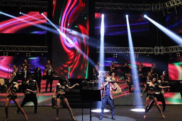 Фаиг Агаев выступил с концертом «F.A Made in Azerbaijan»