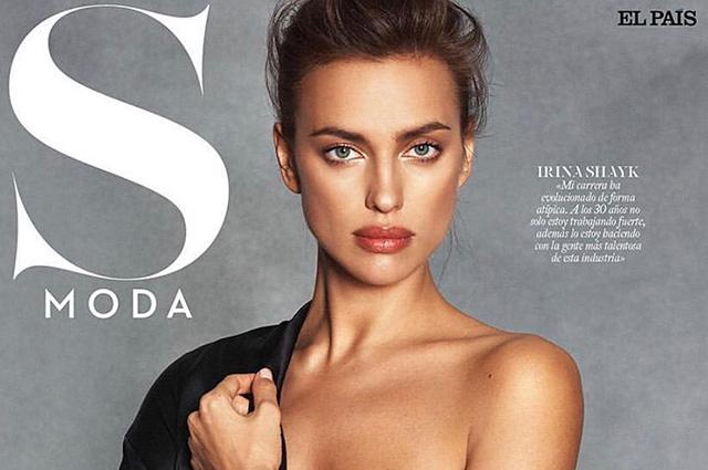 Ирина Шейк появилась на обложке испанского глянца
