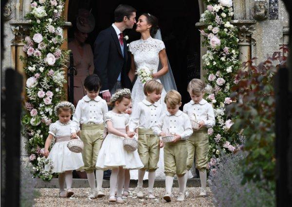 Свадьба Пиппы Миддлтон и Джеймса Мэттьюза: Кейт Миддлтон, принцы Уильям и Гарри и другие гости